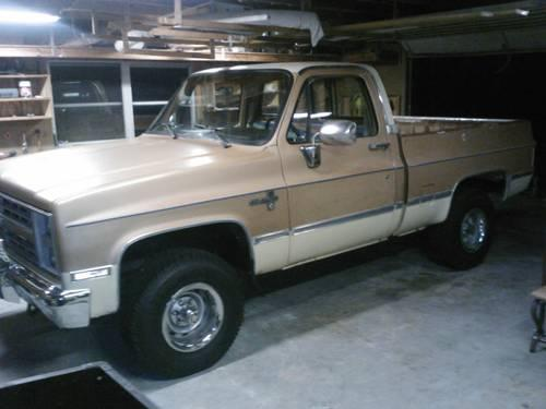 87 chevy silverado 4x4 for Sale in Jacksonville, Florida ...