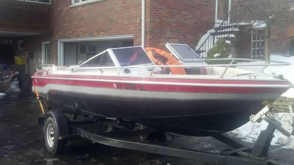 88 18' chris craft 140 horse open bow boat - $1800