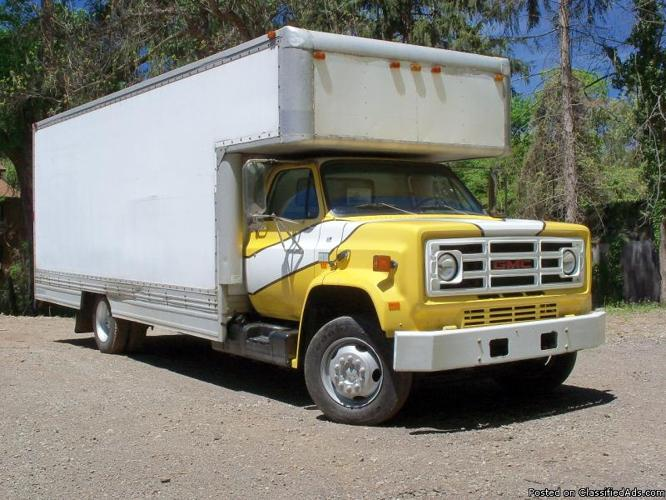 88, 24 GMC BOX TRUCK, SALETRADE