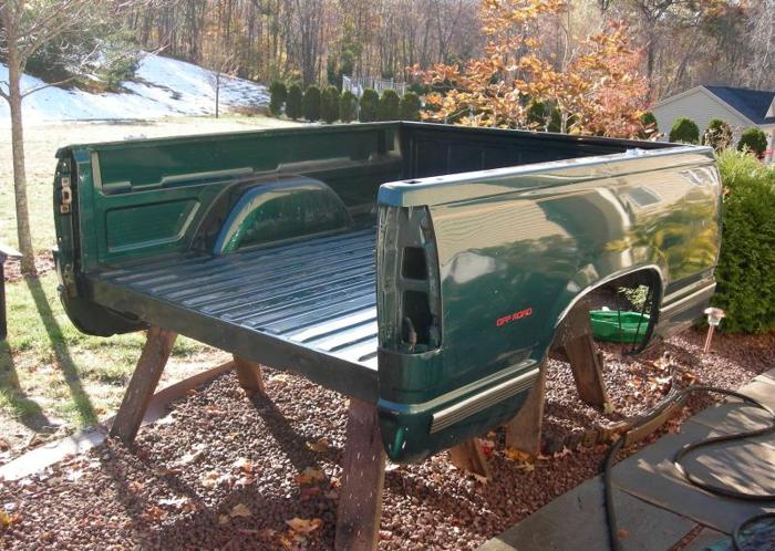 88 98 Chevy Gmc Sierra Silverado K1500 K2500 Pickup Bed Other