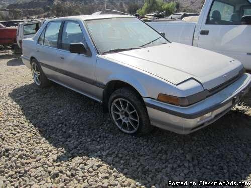 39 88 honda accord for sale in lakeside california for 88 honda accord
