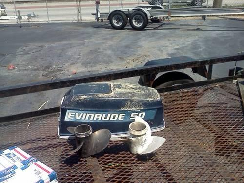 89-05 40,48, 50 hp Johnson Evinrude-lower unit, elect, carb