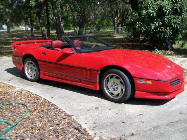 89 chevy corvette covertible for sale in bayonet point florida classified. Black Bedroom Furniture Sets. Home Design Ideas