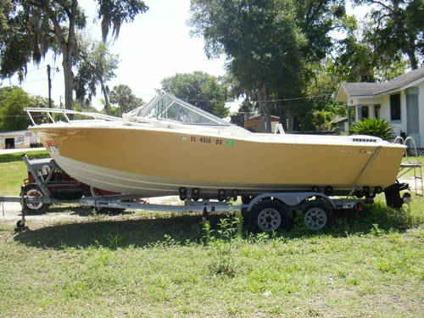 21ft chris craft deep sea fishing boat for sale in for Deep sea fishing boat for sale