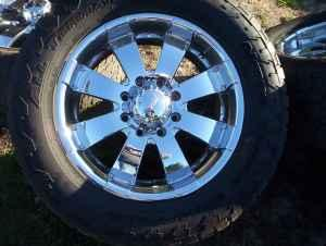 For Sale: Chevy 8 lug rims and tires - Performance Boats Magazine