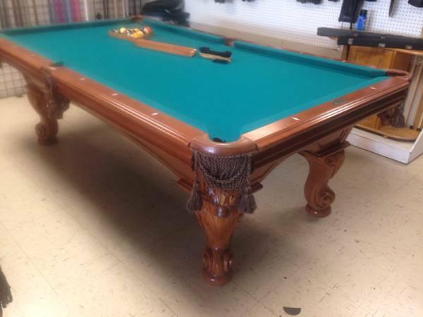 Oakland Athletics 8-ft. Pool Table