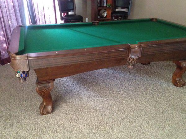 8ft Sportcraft Pool Table With Accessories N Lakeland