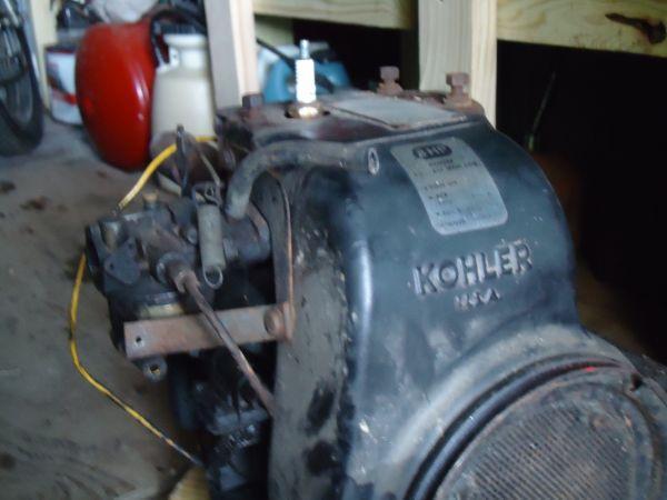 8h p engine kohler with a starter alt 12v crawford for 12v motors for sale
