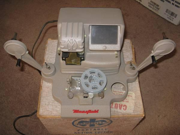 8mm film Portable Action Editor by Mansfield - $10