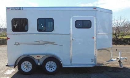 2013 Circle J Lariat 2 Horse Trailer With Champion Package