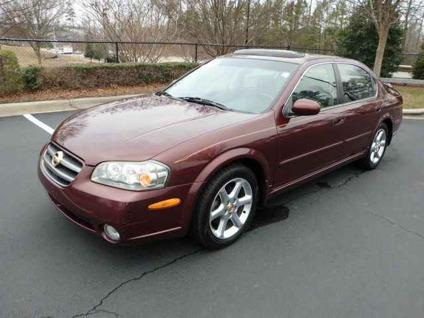 used 2003 nissan maxima for sale for sale in raleigh north carolina classified. Black Bedroom Furniture Sets. Home Design Ideas