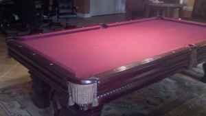 Foot Pool Table Brunswick For Sale OBO Harrisonburg For Sale - Brunswick 9 foot pool table