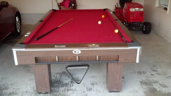 GANDY POOL TABE For Sale In Macon Georgia Classified - Gandy pool table