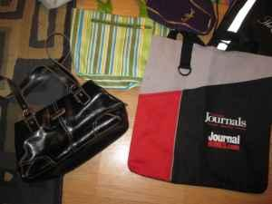 9 Purses and Bags - $15 TR