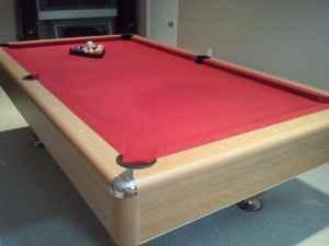 RED SLATE POOL TABLE West Mobile AL For Sale In Mobile - 9 slate pool table