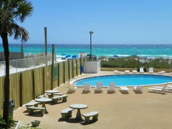 2br panama city beach fl gulf front vacation rental