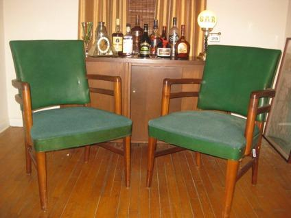 Superb Obo Vintage Gunlocke Chair Walnut Green For Sale In Gmtry Best Dining Table And Chair Ideas Images Gmtryco