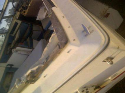 $900 1977 25' sea ray fishing boat