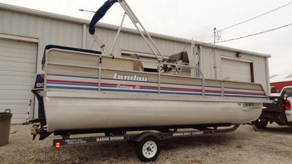 92 20 Ft Landau Pontoon Boat For Sale In Washington
