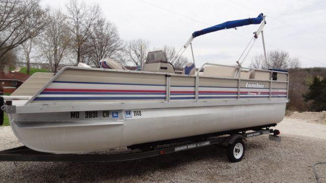 92 20 Ft Landau Pontoon Boat For Sale In Campbellton