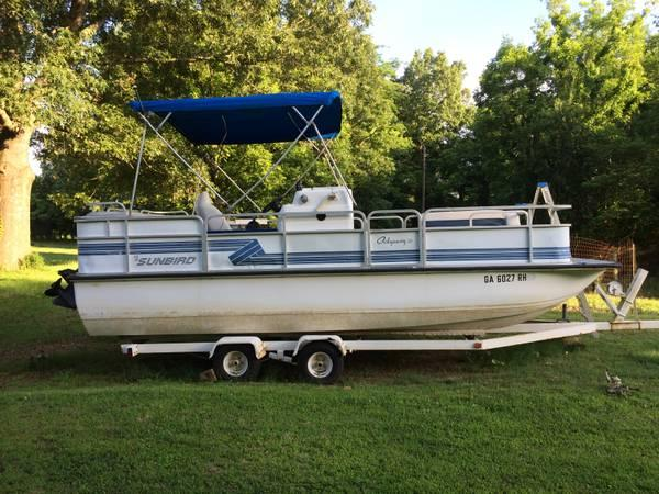 92 Sunbird Odyssey Pontoon Boat For Sale In Batesville
