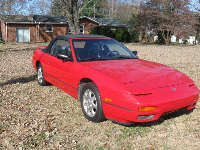 93 Nissan 240sx Se 4 Cylinder Automatic Nice For Sale In
