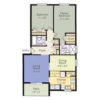 $932 2 Apartment in Oviedo Seminole (Altamonte) Central