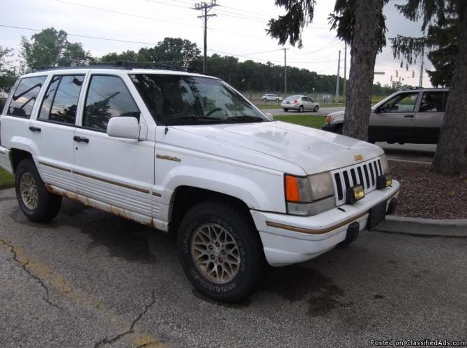 93 Jeep Grand Cherokee for Sale in Elkhart, Indiana Classified   AmericanListed.com