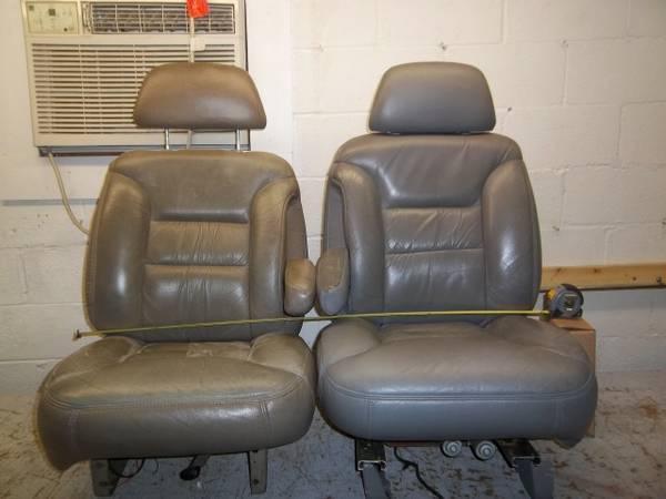 95 99 Chevy Suburban Tahoe Yukon Bucket Seats Hot Rod