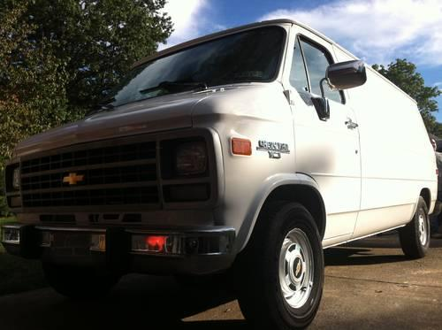 Chevy Express Van >> 95 Chevy G10 Cargo Van for Sale in Harrisburg ...