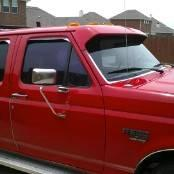 95 Ford F350 Crewcab, flatbed, DRW, 7.3 L POWERSTROKE