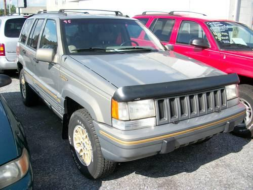 95 jeep grand cherokee limited stock 3836a for sale in. Cars Review. Best American Auto & Cars Review
