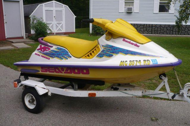 95 sea doo xp bombardier with trailer bad engine for sale