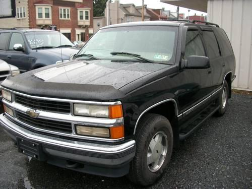 96 chevrolet tahoe lt k 1500 stock 3666a for sale in avon pennsylvania classified. Black Bedroom Furniture Sets. Home Design Ideas
