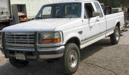 96 Ford Heavy F250 3 4 Ton Diesel P U Complete Welding Rig