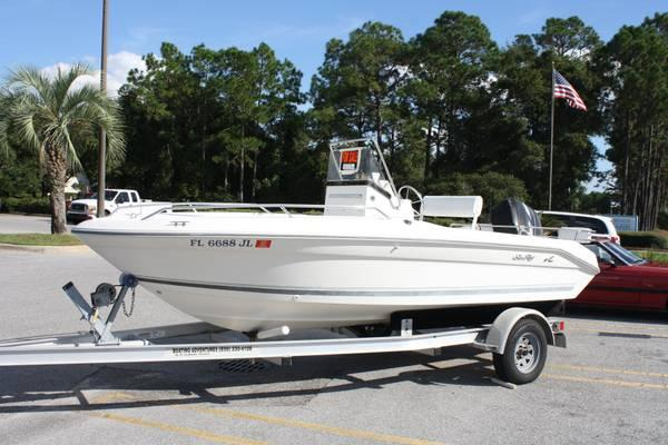 96 SEA RAY Laguna 18 Center Console - $6995