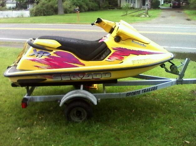 96 seadoo xp 800 jet ski runs great for sale in livonia michigan classified. Black Bedroom Furniture Sets. Home Design Ideas