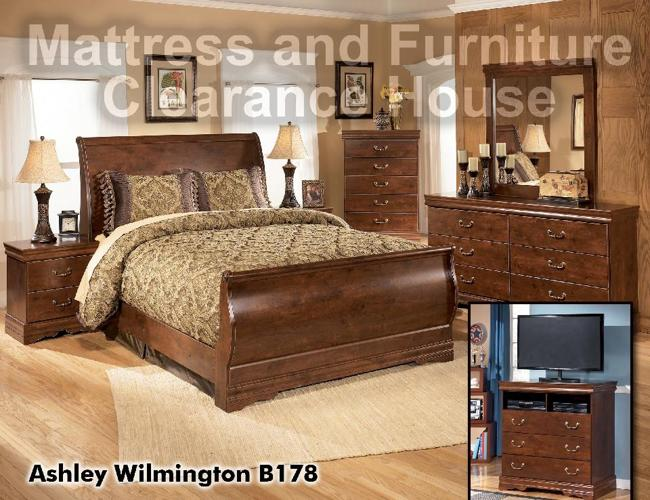 Ashley Furniture Sleigh Bedroom Suite 650 x 500