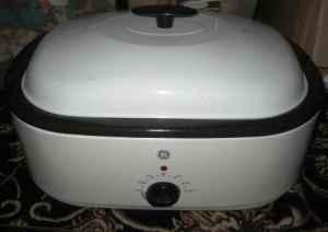 Ge Roaster Oven And Buffet Server Option Large 18 Quart