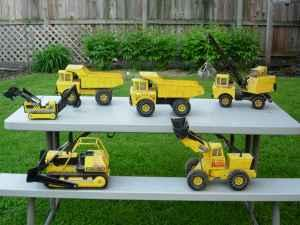 96701960s METAL TONKA TRUCKS VINTAGE TOYS RARE ITEMS COMPLETE COLLECTION - $400 Boone