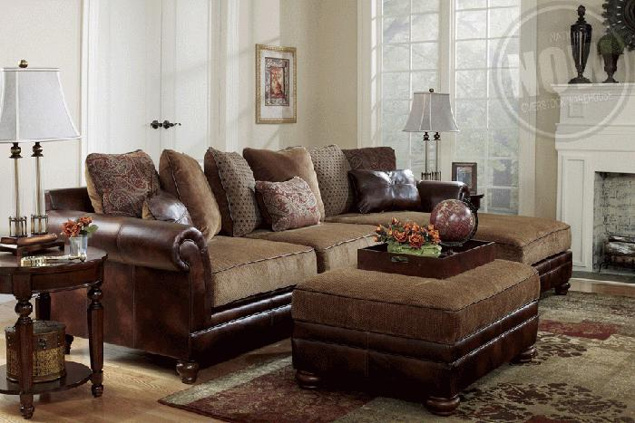 SECTIONAL NEW MULTI COLORED PILLOWS Lexington Overstock