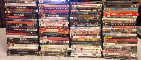 97 DVDs for sale - $75