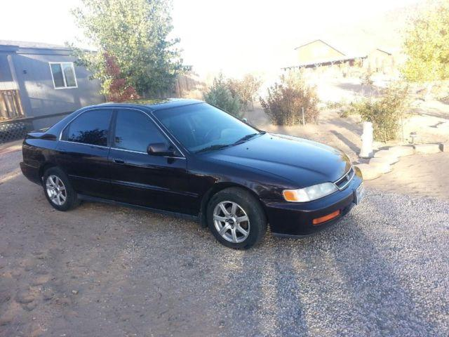 97 honda accord 4 door new paint well maintained gas. Black Bedroom Furniture Sets. Home Design Ideas