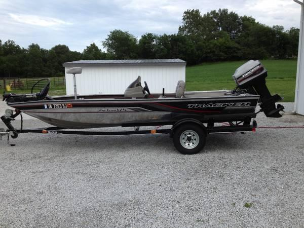 98 bass tracker pro team 175 - $5850
