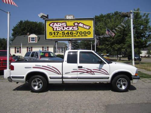 2014 chevy s10 gas mileage