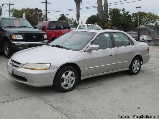 honda accord coupe 1998 mileage