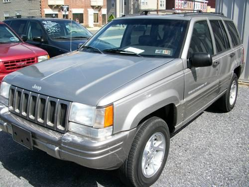 98 jeep grand cherokee limited stock 3848a for sale in avon pennsylvania classified. Black Bedroom Furniture Sets. Home Design Ideas