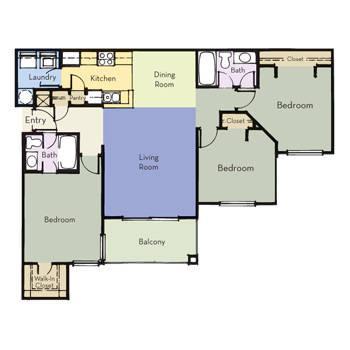 $989 3 Apartment in Altamonte Springs Seminole