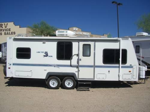 39 99 arctic fox 24 39 travel trailer gorgeous cheap for sale in new river arizona classified