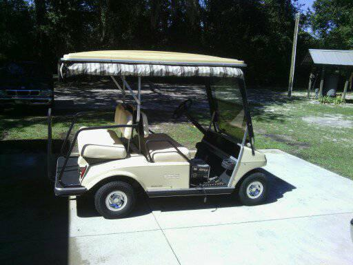99 club car villager golf cart - $2450